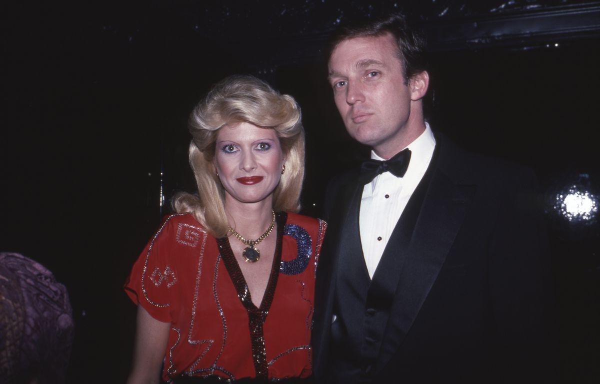 Donald Trump and Ivana Trump, 1989.