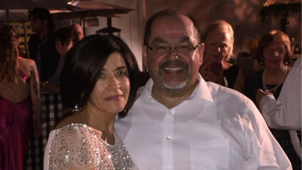 Phillip D. Rios and Karen Rios, his wife of 42 years.