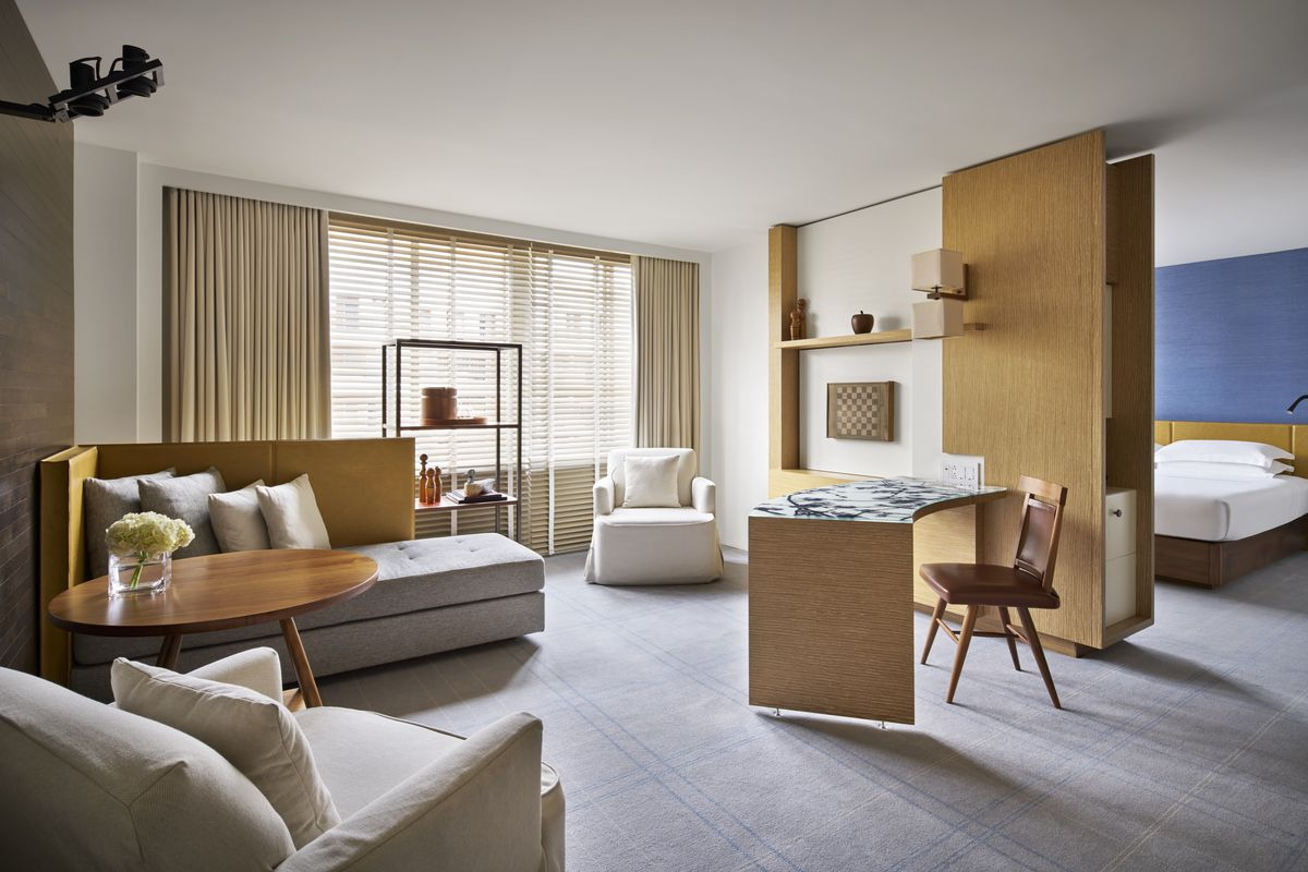 D.C.\'s Park Hyatt hotel unveils renovated rooms - Curbed DC