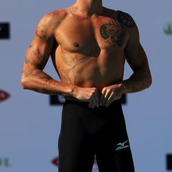 French swimmer Frederick Bousquet