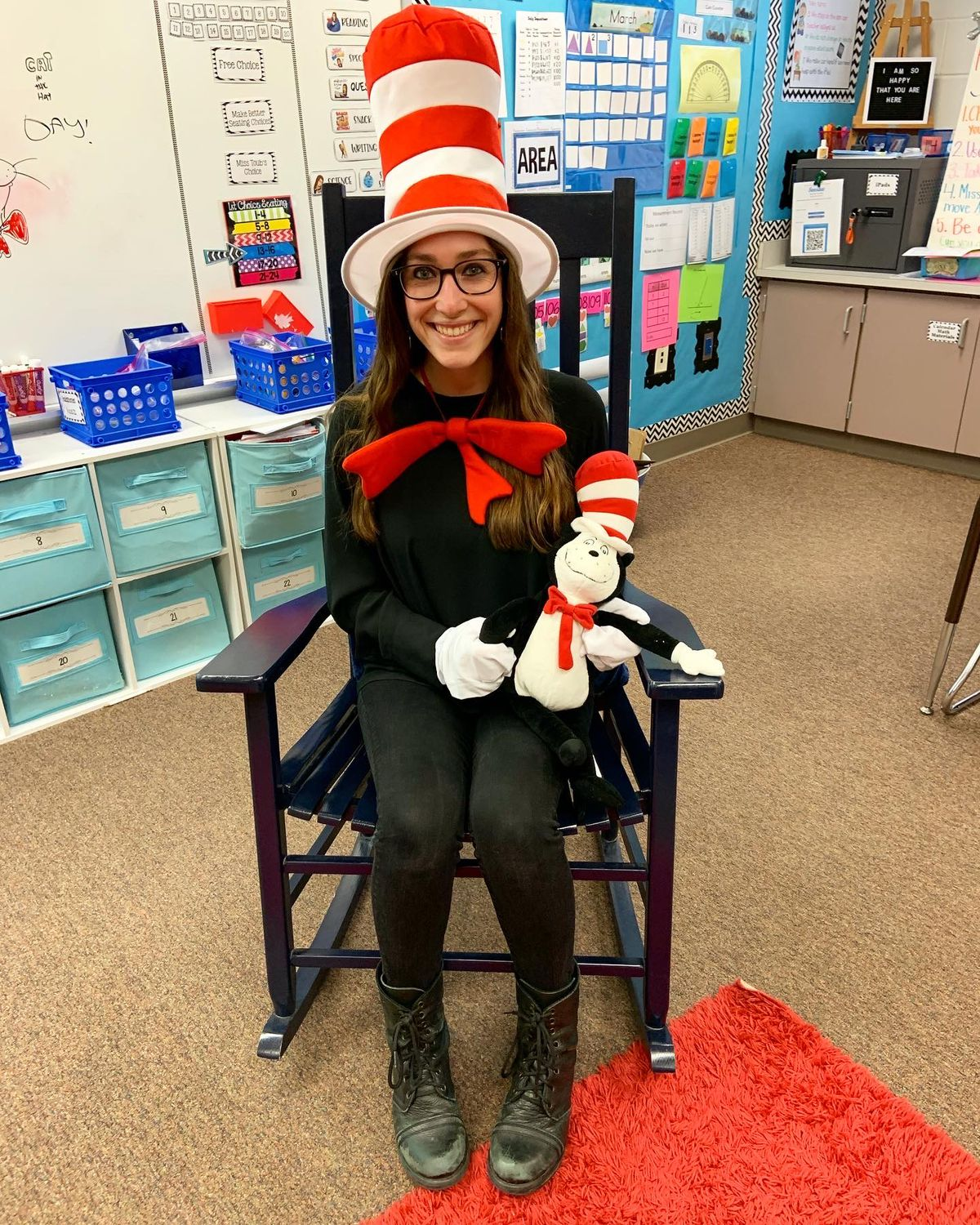 Lindsay Toub in her classroom.