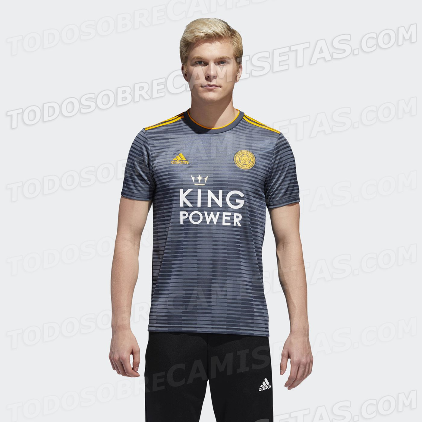 b448335c8b2 Leicester City officially unveils 2018-19 home kit, secondary kit leaks.  The new Adidas deal is ...