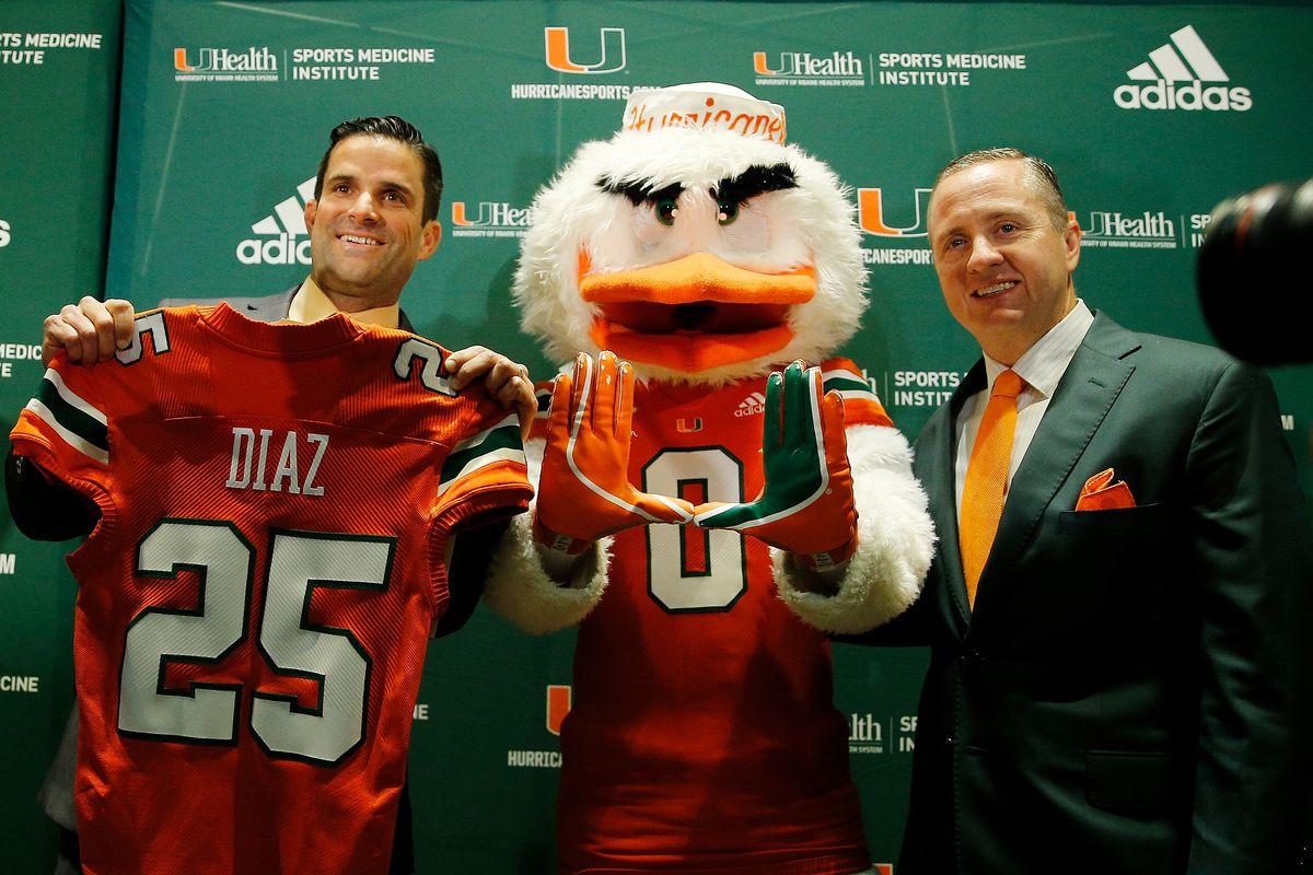 University of Miami Introduces Manny Diaz