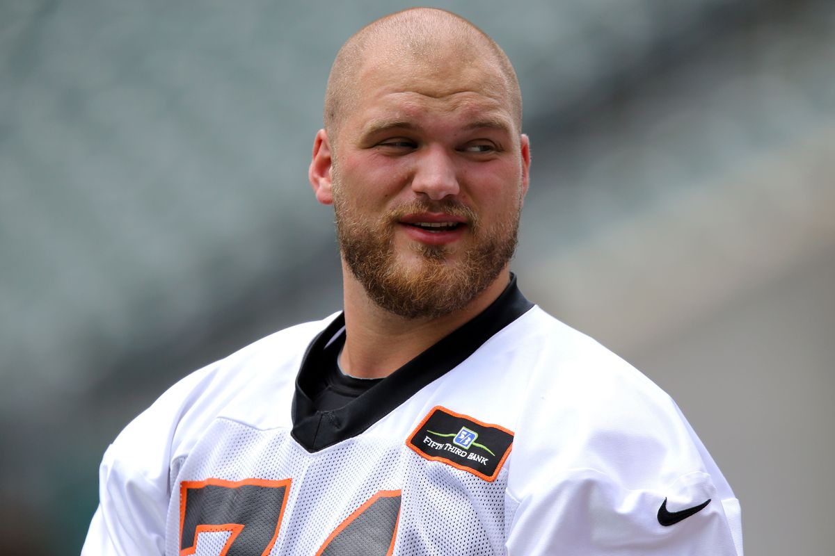 Jake Fisher is fully recovered and vying for the starting RT spot ...
