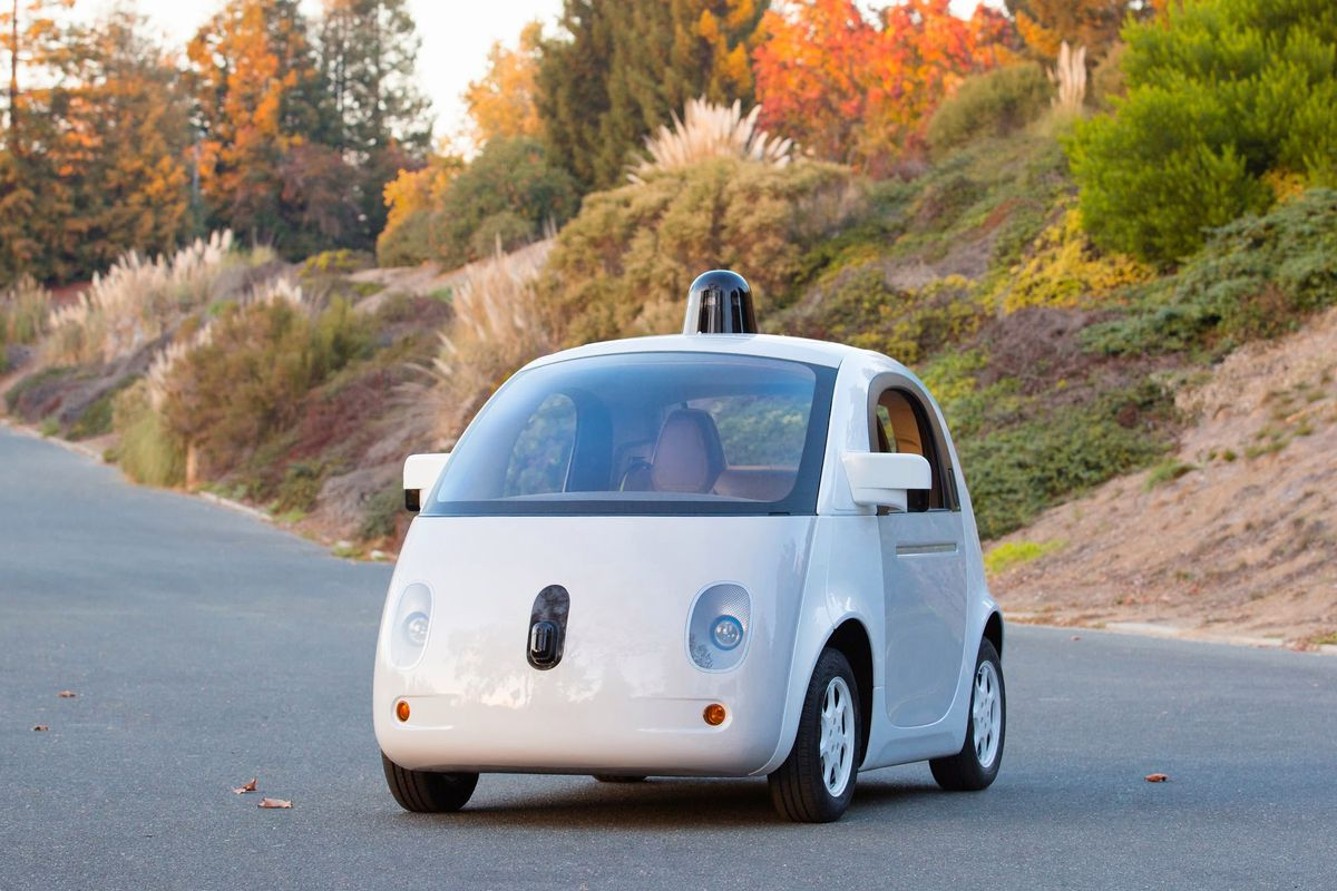 Google Has Finished Building The First Complete Prototype Of Its Self Driving Car This Latest Is Said To Have All Parts That A