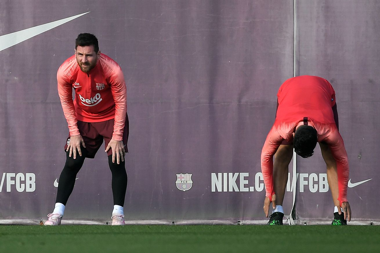 Valverde: It?s ?hard to see? Messi ready for La Liga debut