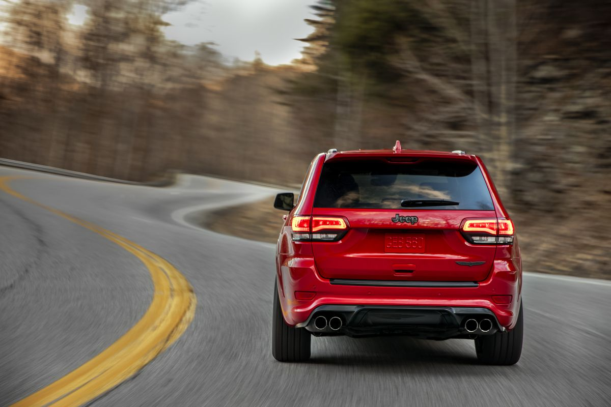 Jeep Says The Grand Cherokee Trackhawk Is Fastest Suv Ever Sport Fuel Filter Pricing And Economy Numbers Were Not Released Will Hit Dealers Late This Year Itll Be On Display At New York