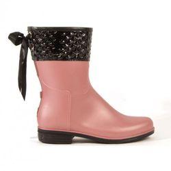 "Dav Victoria Mid Pyramid Rain Boot, $79, at <a href=""http://www.davrain.com/index.php/shop-online/rain-boots/victoria-mid-pyramid-blush-pearl-rain-boot.html"" rel=""nofollow"">däv</a>"