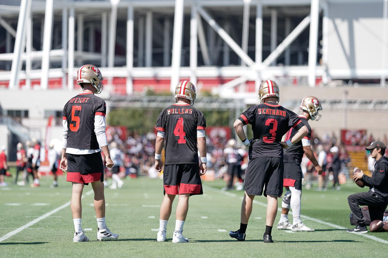 Do the 49ers have the best backup QB situation?