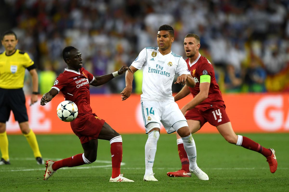 Image result for 2018 Champions League- Liverpool 1 Real Madrid 3