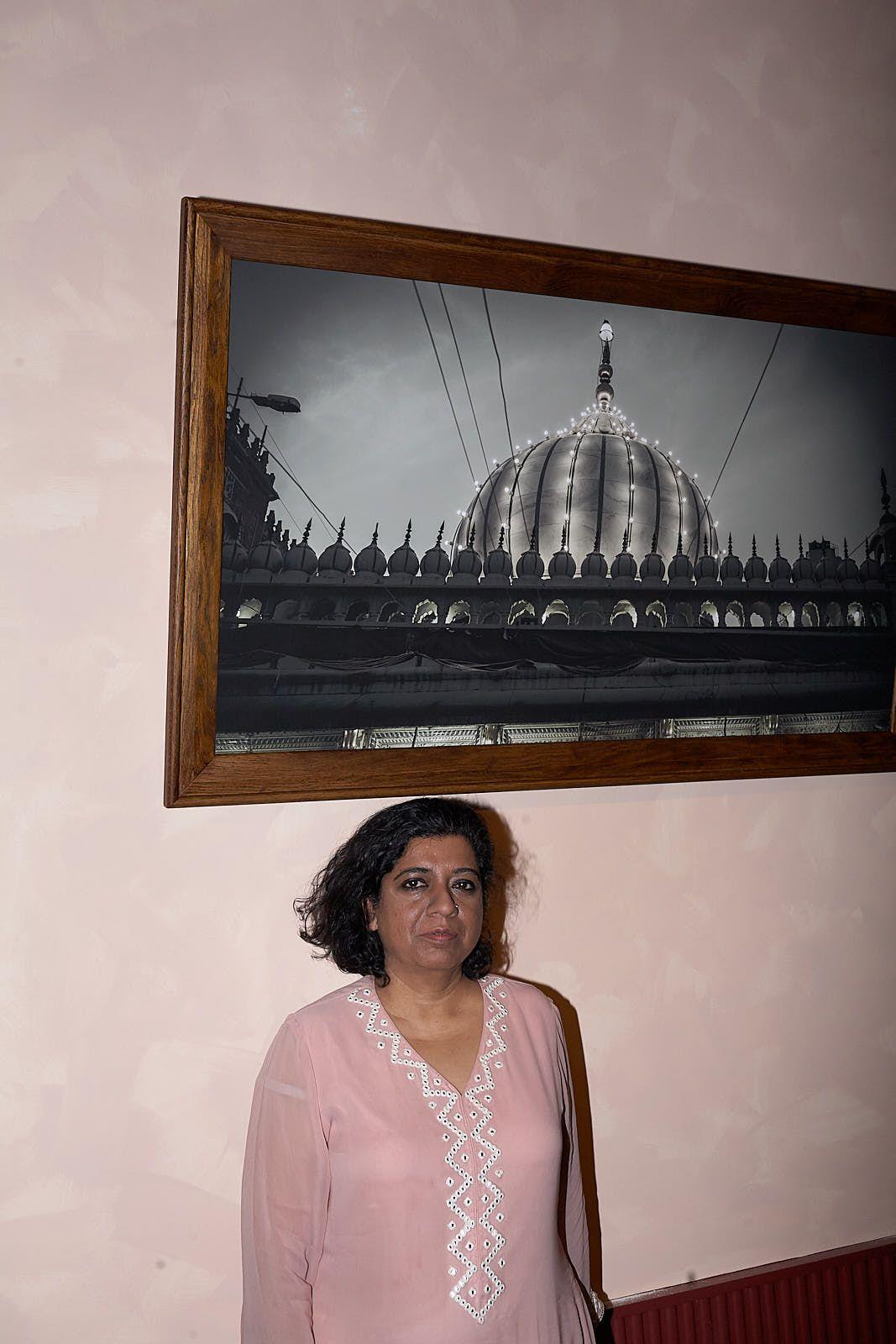 Asma Khan, at her new restaurant Darjeeling Express in central London last month
