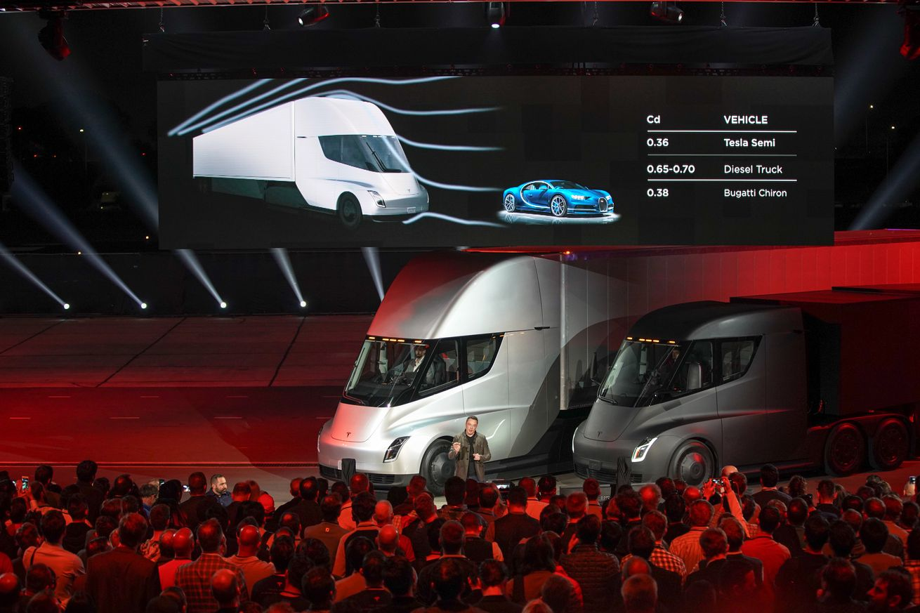 walmart says it s preordered 15 of tesla s new semi trucks