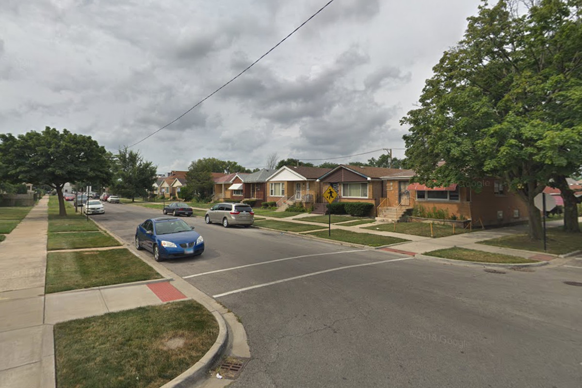 A man was shot and a woman was critically wounded by a stray bullet Sept. 10, 2019, in the 7300 block of South Wolcott Avenue.