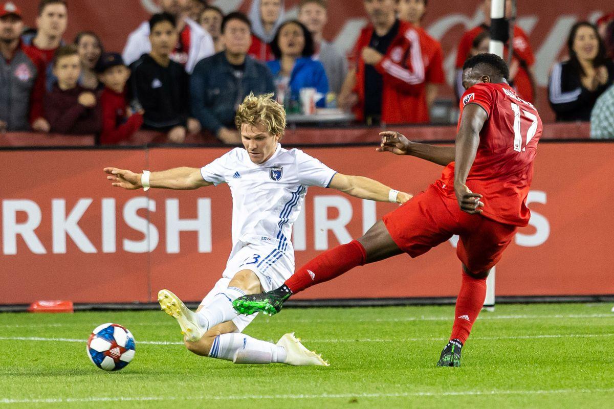 MLS: San Jose Earthquakes at Toronto FC