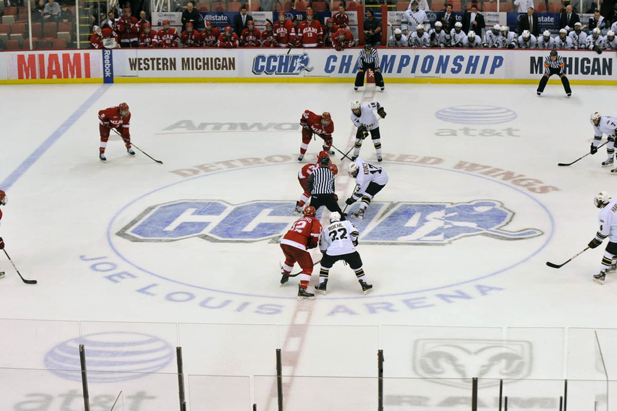Miami and WMU used to duke it out in the CCHA.  Now they meet as NCHC foes