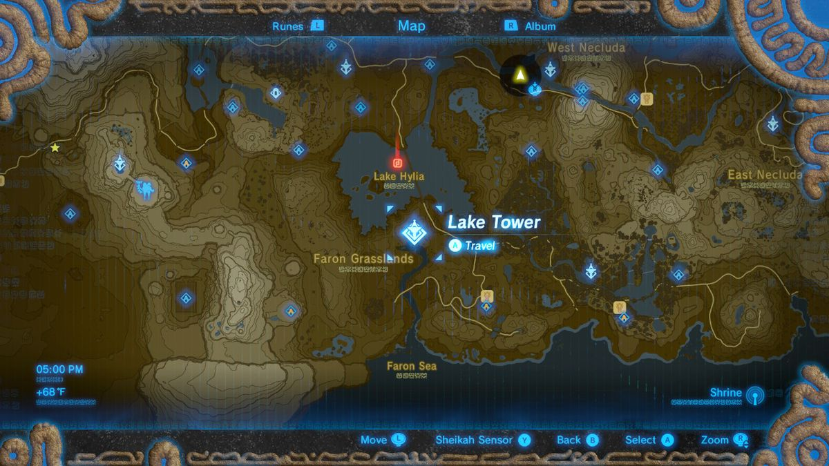 Breath Of The Wild Dragon Locations For Naydra Dinraal And Farosh