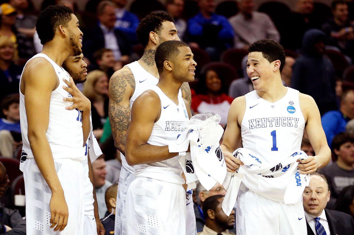 The 2014–15 Kentucky Wildcats (GettyImages)