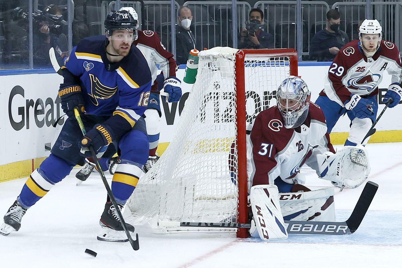 Colorado Avalanche v St Louis Blues - Game Three