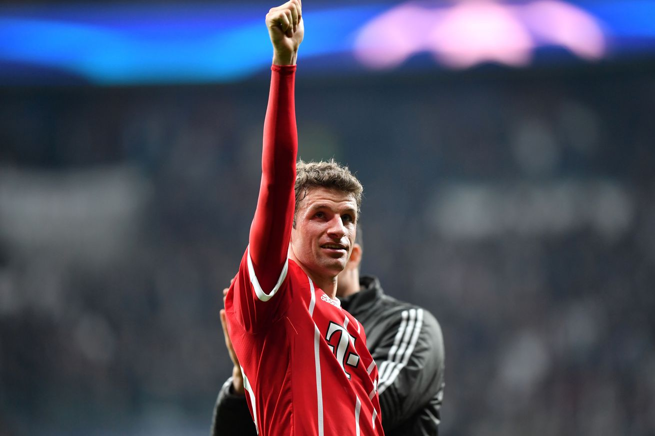 Match awards from Bayern Munich?s uninspired 3-1 win over Besiktas