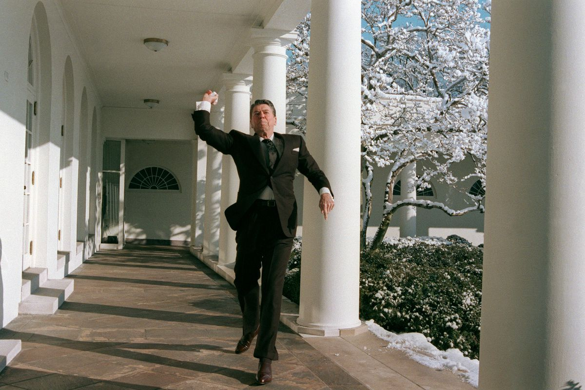 Reagan snowball 1986