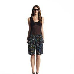 Knit basic tank top, $40*; Drawstring shorts, $48*