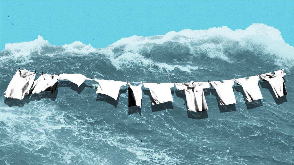 Ocean Plastic Pollution Why Our Clothes Are Part Of The Problem Vox