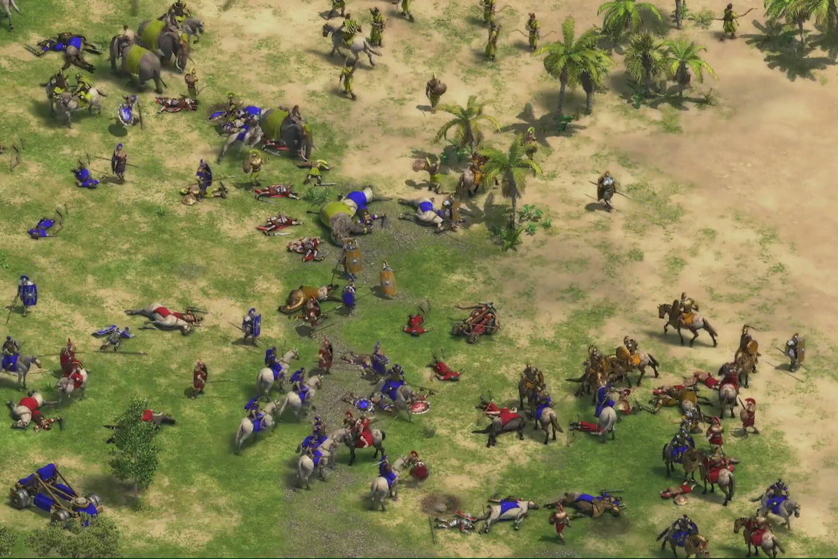 Age of Empires: Definitive Edition battle Microsoft Studios