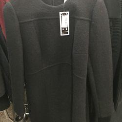 Carven black dress with zip bottom, size 40, $300