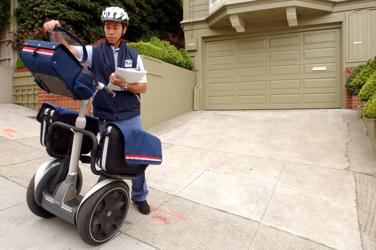 It takes a long time for this guy to deliver questions via Segway. Thanks for your patience.