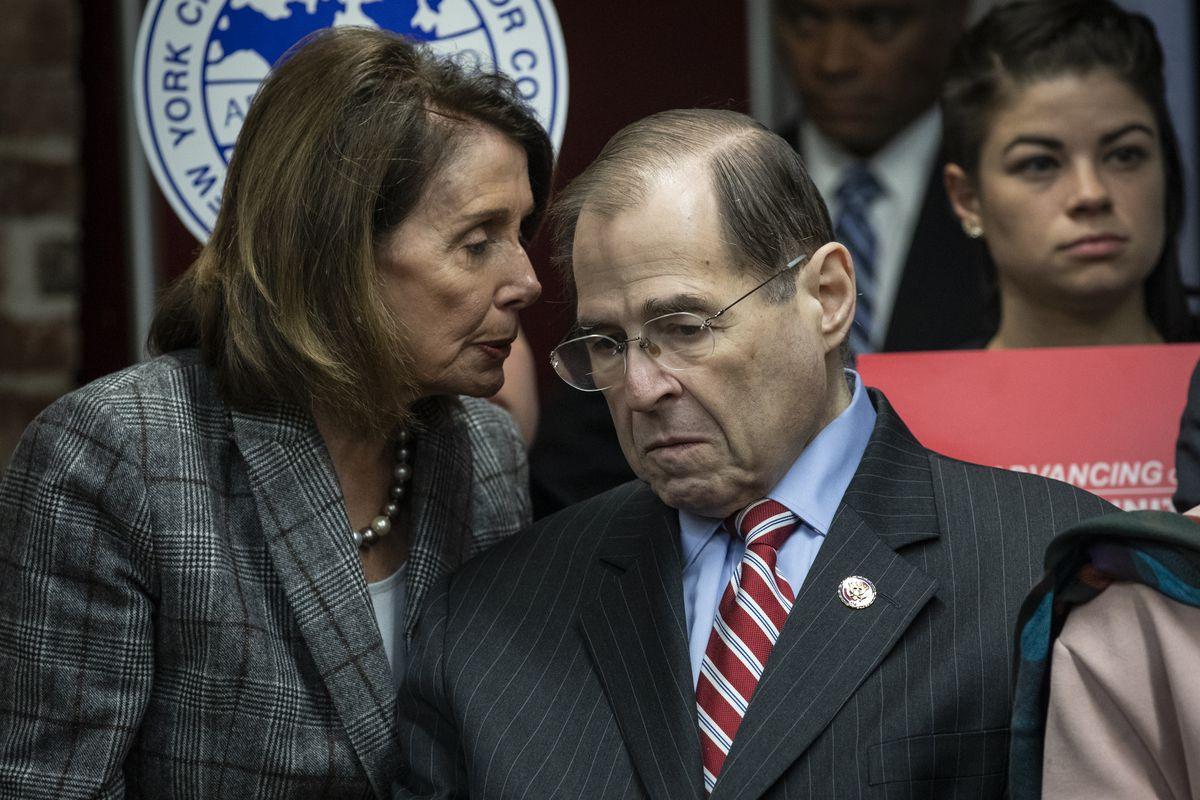 Nancy Pelosi And NYC Mayor De Blasio Discuss American Dream And Promise Act