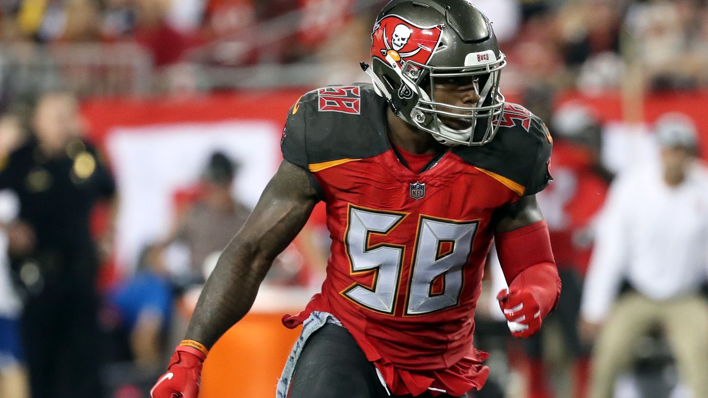 Kwon Alexander talks defensive play calling, Buccaneers, playing football after family tragedy
