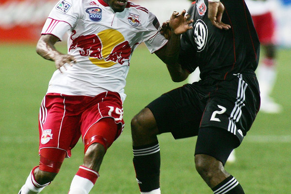 Julius James has emerged as a solid defender for DC United.
