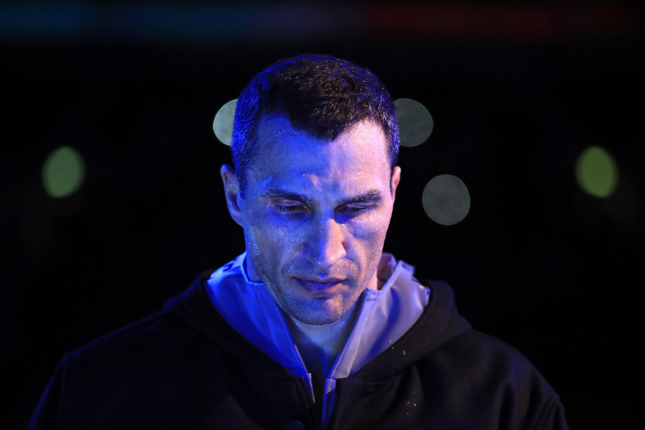 674898216.0 - Klitschko set to end retirement on May 25