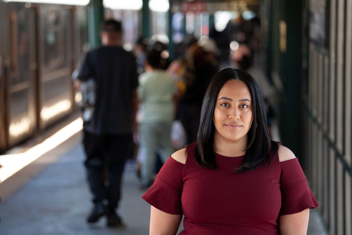 Amanda Farías is running for City Council in The Bronx, May 18, 2021.