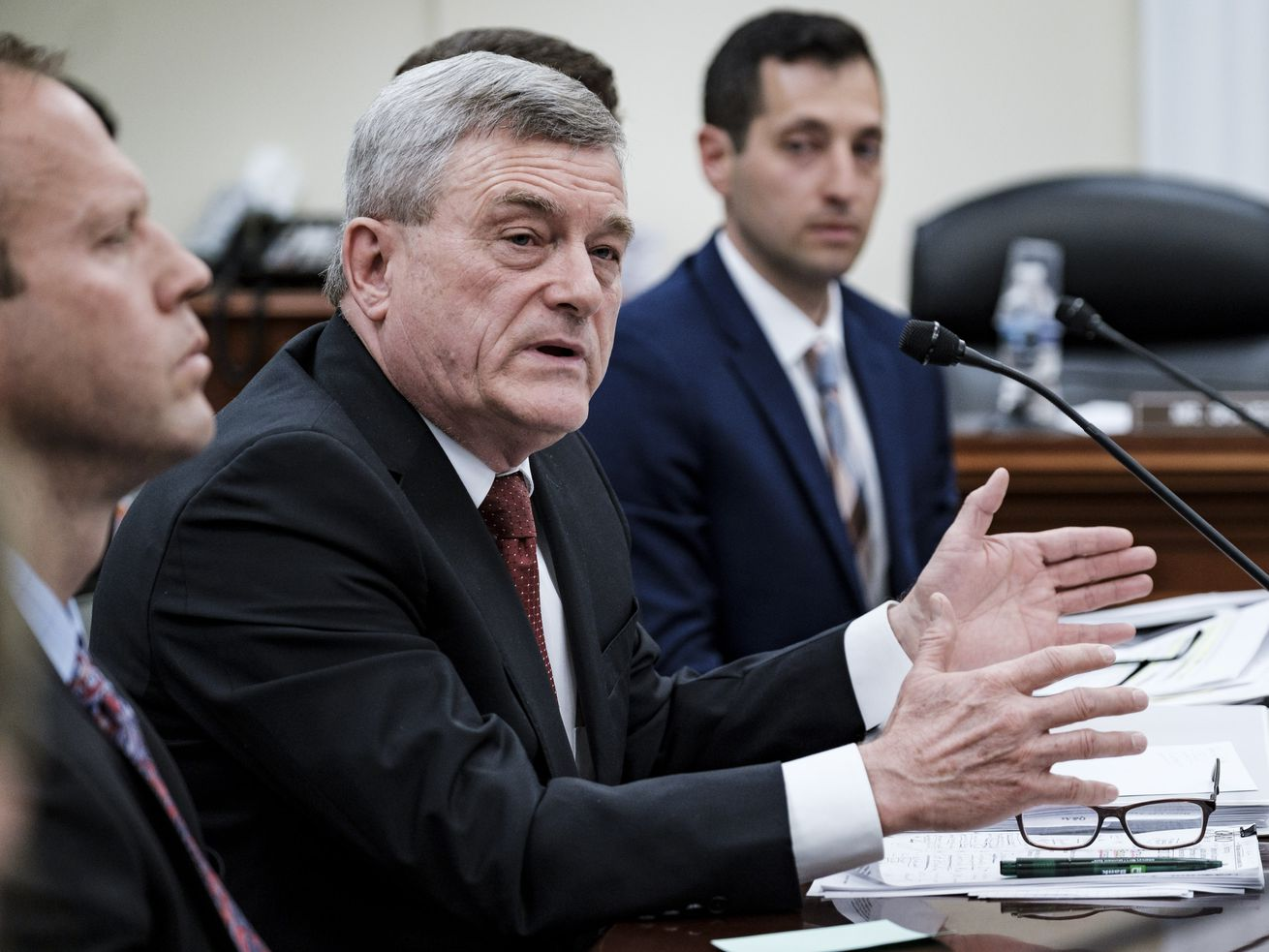 Census Bureau Director Steven Dillingham testifies before a House Appropriations Subcommittee about preparations for the upcoming 2020 census, on April 30, 2019, in Washington, DC.