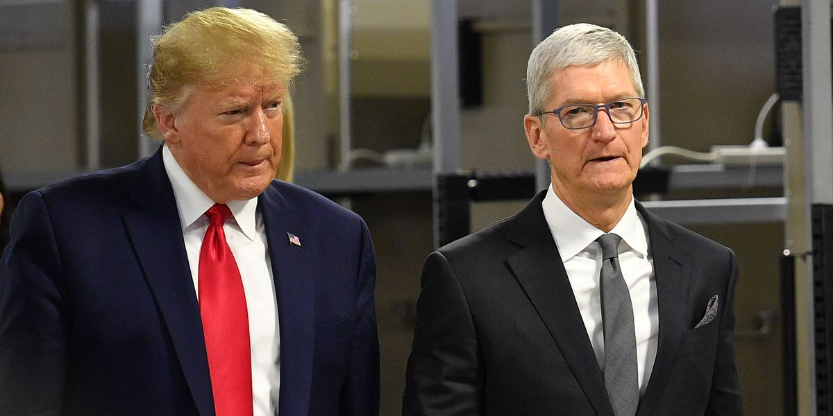 Trump is lying about the 'new' 'Apple' factory