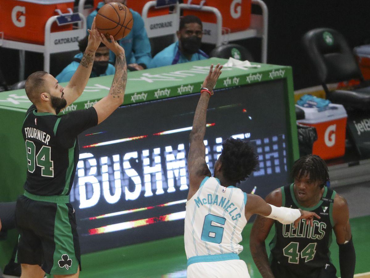 Charlotte Hornets Vs Boston Celtics At TD Garden