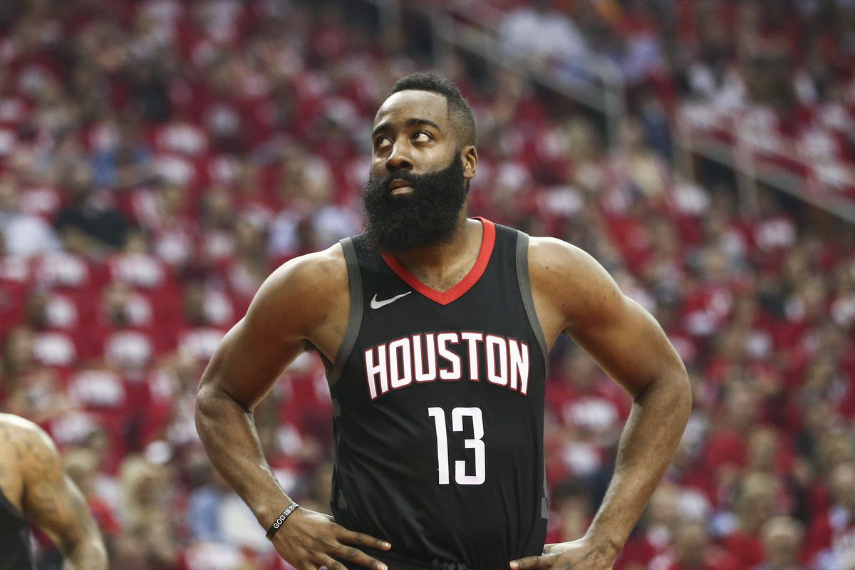 ff2ed4300445 NBA playoff reaction  Jazz gave James Harden case of Resting Beard ...