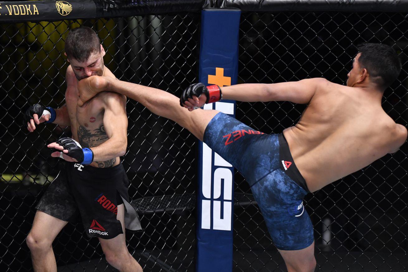 UFC Fight Night: Yanez v Rodriguez