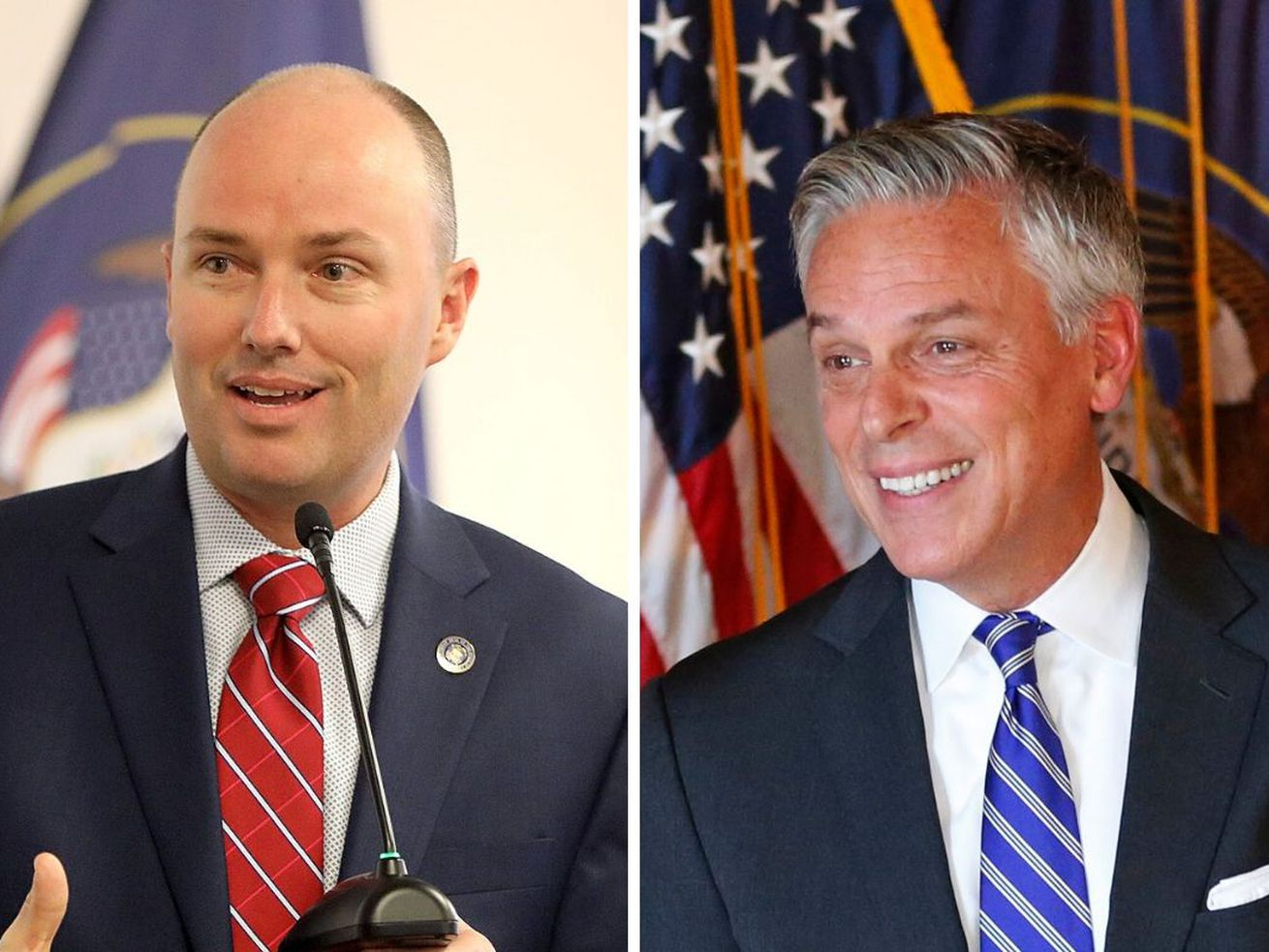 Cox ahead of Huntsman in race for governor, poll shows
