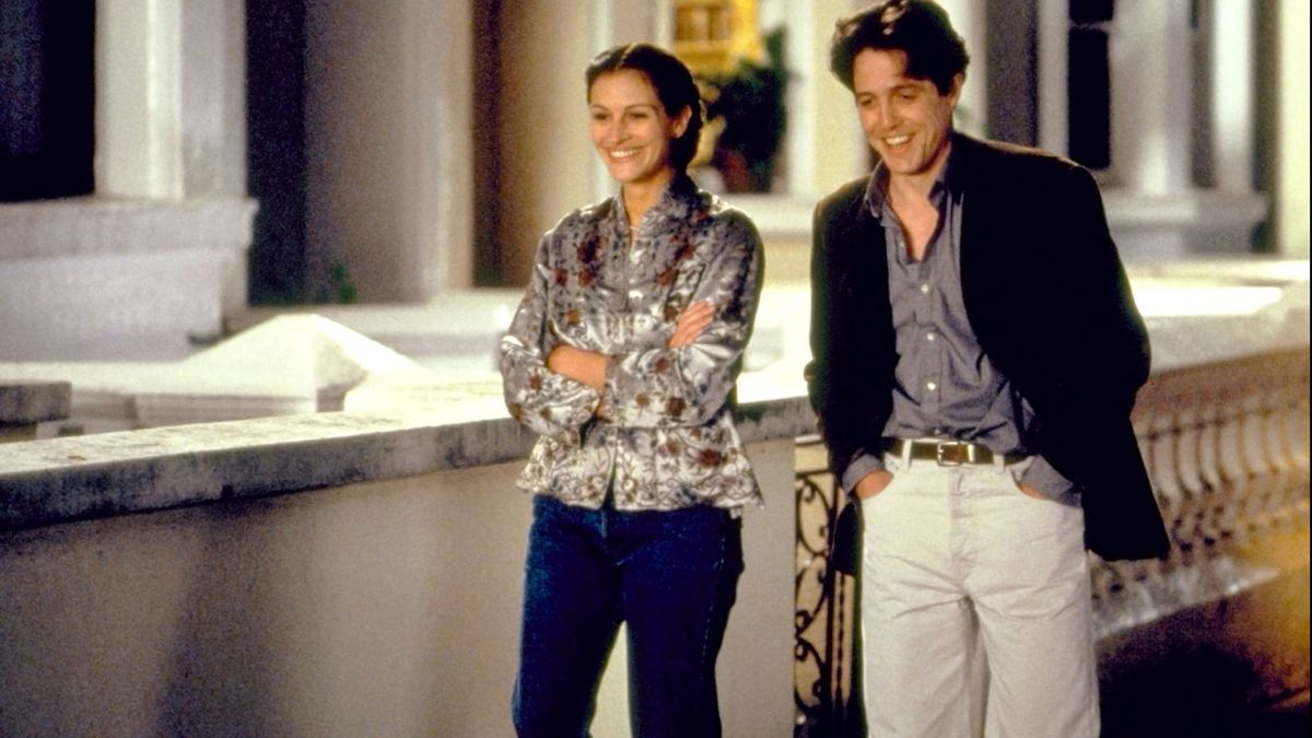 Julia Roberts and Hugh Grant captured hearts in Notting Hill.