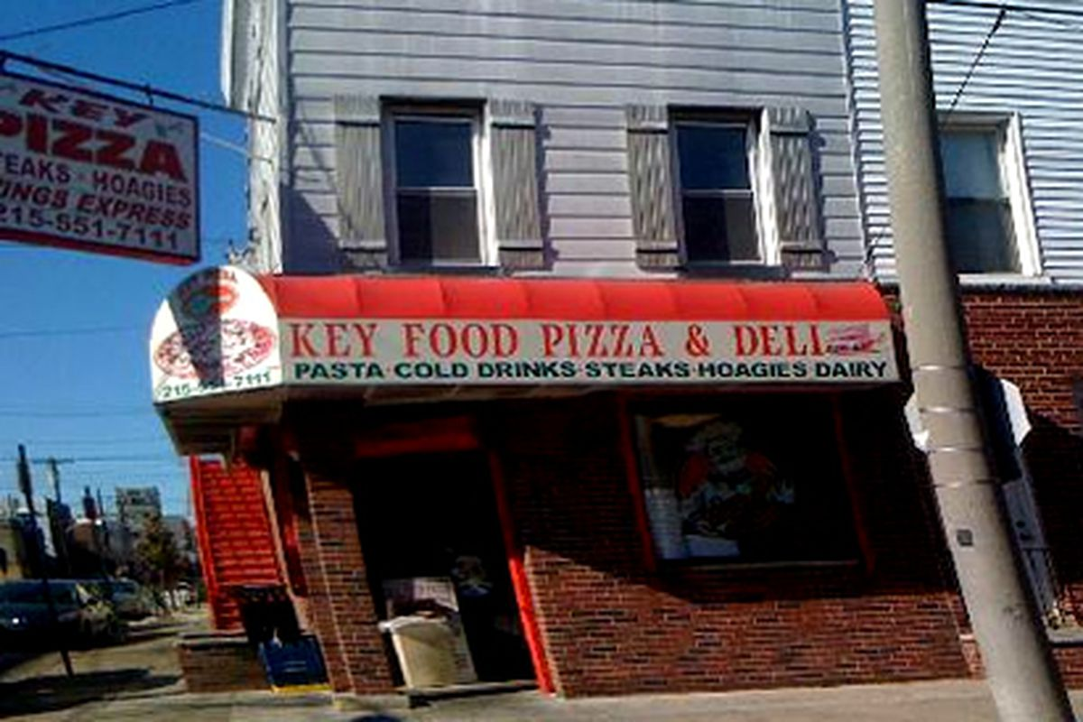 We're talking about your hot circle of garbage, Key Pizza.
