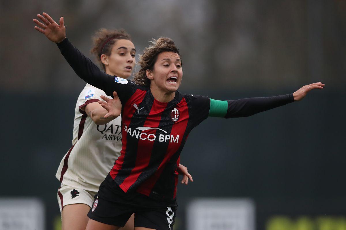 AC Milan v AS Roma - Women Serie A