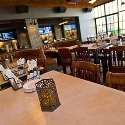 The restaurant boasts casual dining