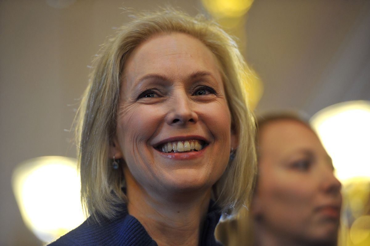 Kirsten Gillibrand by Alfonse DAmato: TIME 100   Time