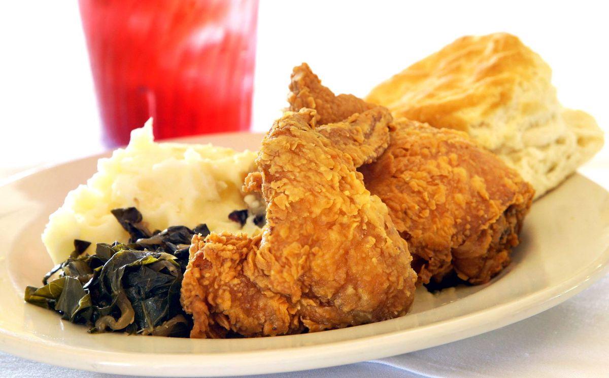 Hyde Park's fried chicken
