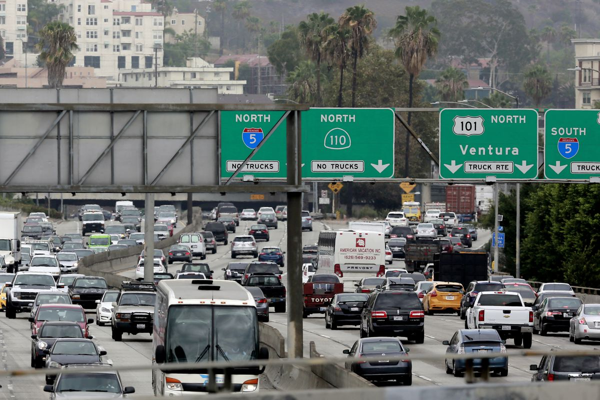 LA drivers face nation's fifth-worst traffic, says report
