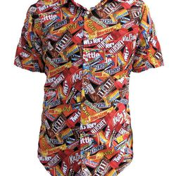"""<a href=""""http://www.etsy.com/listing/154055171/crazy-candy-handmade-button-up-collared?"""">Crazy Candy Handmade Button Up Collared Shirt</a>, $69"""