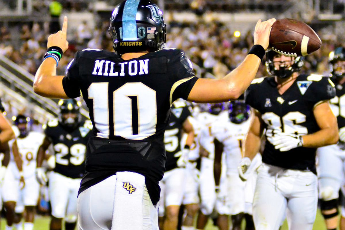 buy popular f1653 02f4c WATCH: McKenzie Milton on SportsCenter with SVP After UCF's ...