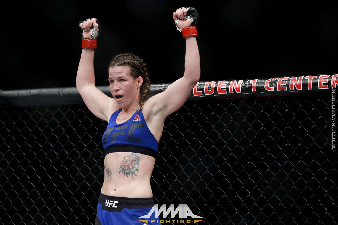 Leslie Smith vs. Lina Lansberg set for UFC Fight Night 113 in Glasgow
